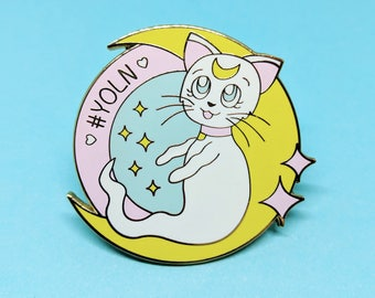 YOLN - Enamel Pin - Sailor Moon - Artemis