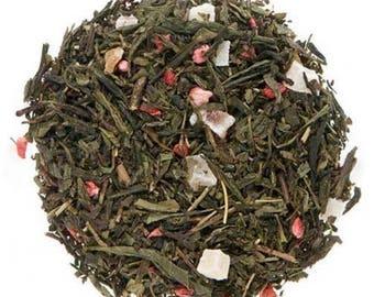 Strawberry - Loose Leaf Green Tea