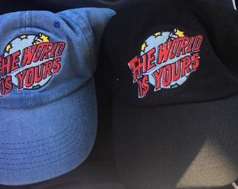 Nas The World is yours hats