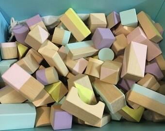 Pastel Building Blocks
