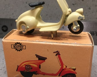 Vintage Diecast Toy Vespa 125, with box