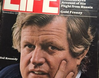 Life Magazine featuring Ted Kennedy 1979