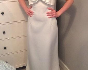 Wedding dress ivory dress