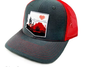 Heart of the Desert : Trucker Snapback Hat
