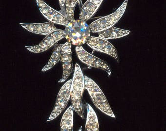"""Sarah Coventry """"Evening Accent"""" Brooch-C.1965"""