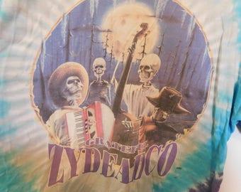 Vintage Grateful Dead Tee Shirt, Zydeadco, Fair Condition, XL