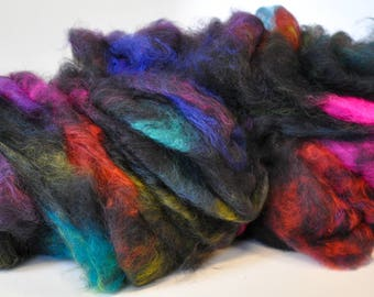 Black Opal- INTRODUCING LOOP LUX Spinning Clouds- 25% Cashmere!!! (4.0 oz.)