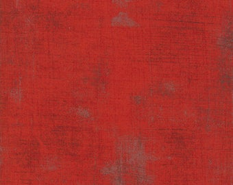 Biscuits and Gravy - Grunge in Red: sku 30150-151 cotton quilting fabric by BasicGrey for Moda Fabrics