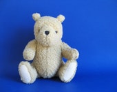 Vintage Winnie the Pooh Teddy Bear Stuffed Animal Toy by Gund Classic Pooh 1990s Toy Plush
