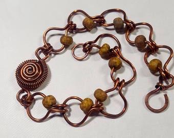 Copper Link Picasso Bracelet