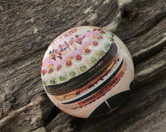 Vintage Rolling Stones Let It Bleed Button
