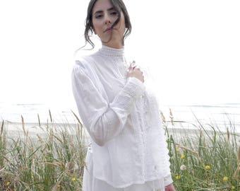 Edwardian Blouse Romantic Clothing