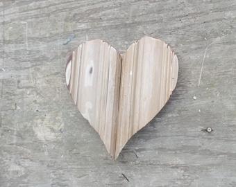 Wooden Heart, Nursery Decor, Rustic Heart, Reclaimed Wood Heart, Wood Wall Art, Boho Decor, Rustic Wall Decor, Boho Heart Decor,
