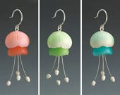 "Polymer Clay PDF Tutorial ""Jellyfish Earrings"""