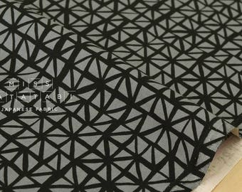 Cotton + Steel Lil' Monsters - shattered charcoal - fat quarter