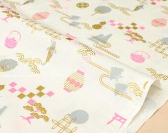 Japanese Fabric Golden Japan Metallic - E - 50cm