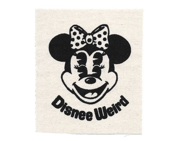 Disnee Weird Minnee Stitch-On Patch