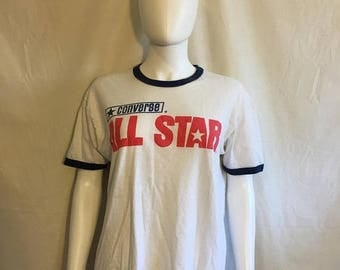 Closing Shop 40%off SALE Converse All Star 70s 80s t shirt