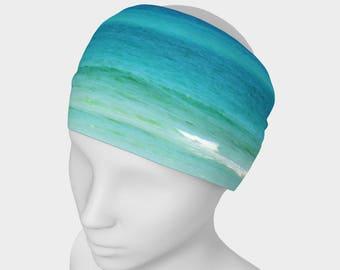 By The Sea Large Headwrap/Neckwrap Wearable Art