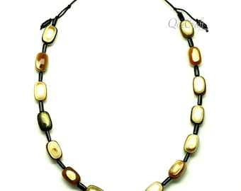 Horn String Necklace - Q12981