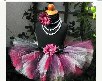 SUMMER SALE 20% OFF Elegant Beauty - Custom Sewn Tutu - sizes Newborn to 5T - up to 12'' length