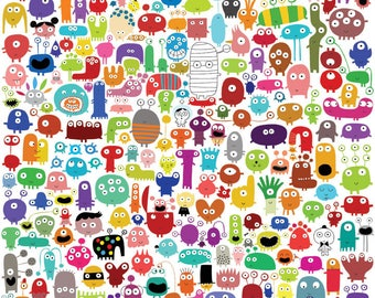244 monsters and a few, and many little surprises