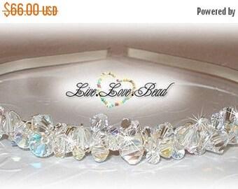 20% OFF Swarovski Crystal Encrusted Bridal Tiara