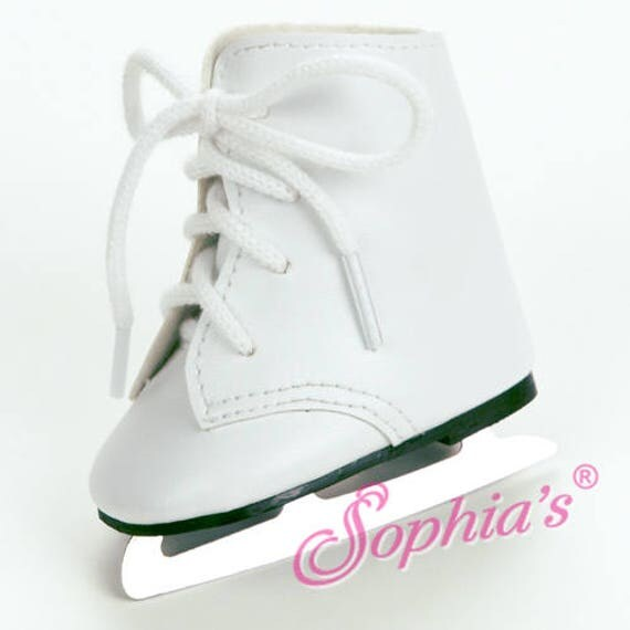 Ice Skates - 18 Inch Doll Shoes