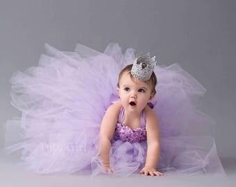 Lavender Tutu Dress Flower Girl