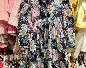 90s Polly Flinders Dress Girls 5