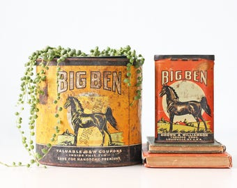 Vintage Big Ben Tobacco Tin