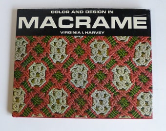 Color And Design In Macrame Virginia Harvey 1967
