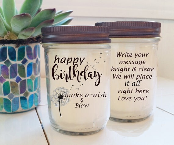 Birthday Gift Candle Send A Friendship BFF