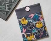Kawaii Cute Hanging Sloths Kindle Sleeve, Kindle Cover, Kindle Case