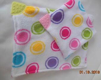 Lovey Security Teething Blanket Set