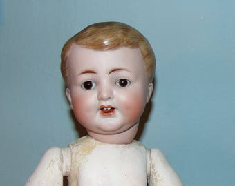 Unusual ABG 1327 Antique Bisque Character...REDUCED!