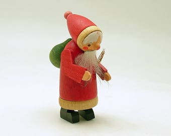 Vintage Christmas Decoration Wood Tomte Figurine Sweden