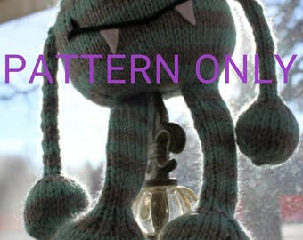 PATTERN Round Knitted Monster