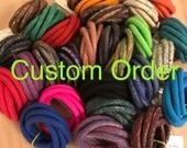 Navy Denim Blue Felted Bracelet / Felted Bangles / Modern Cuff / OOAK / Twisted Felt Collection
