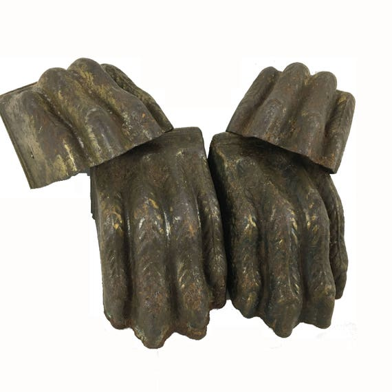 Set of 4 Metal Furniture Claw Feet