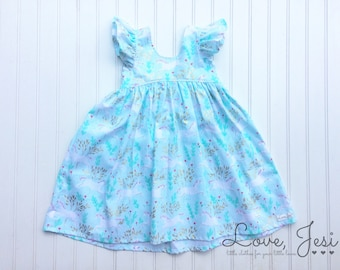 Girls Unicorn Dress, Toddler Unicorn Dress, Toddler Girls Dress, Unicorn Dresses for Girls, Little Girls Dresses, Baby Girls Dresses, Party