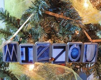 MIZZOU Christmas ornament