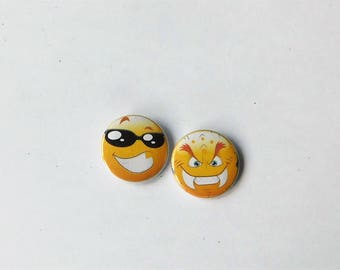 2 Buttons Smiley