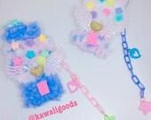 Fuzzy Gumball Machine Fairy Kei Yume Kawaii Deco 2-way Clip