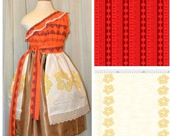 Reserved - Polynesian Princess Fabrics - Cotton
