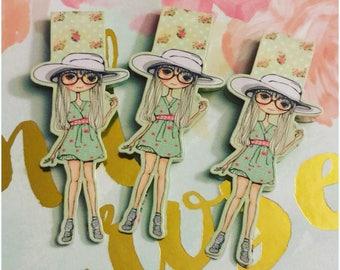 Summer Girl Bookmark~