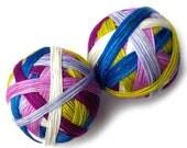 Self Striping Hand Dyed Sock Yarn Merino Nylon - Modern Living