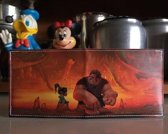 Ralph & Vanellope Disneyland Map Wallet