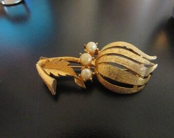 Gold flower bud