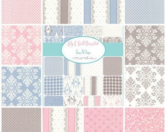 Lily Will Revisited Fat Quarter set fabric | Moda fabric | Cotton Quilting fabric